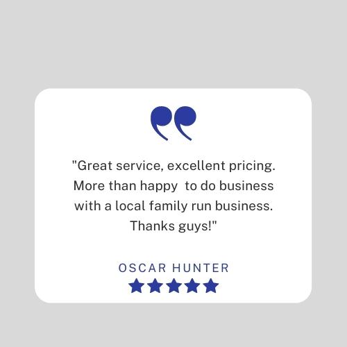 Testimonial 2 - Oscar Hunter